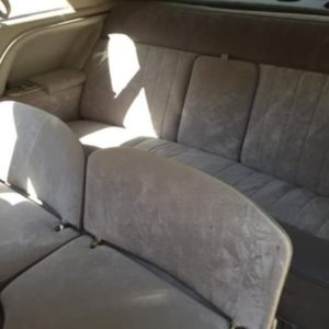 Interior Of Classic Cadillac For Hire